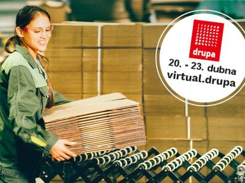 Robatech vystavuje na konferenci virtual.drupa