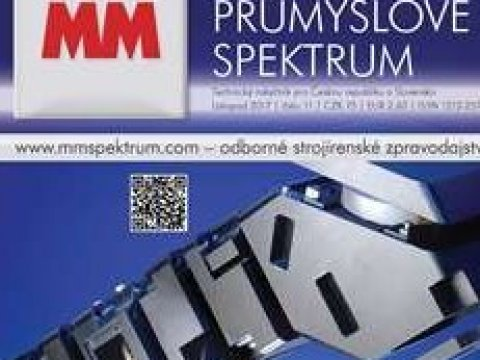 A new article in the MM Průmyslové spektrum professional journal