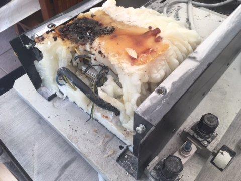 Gluing machine repair
